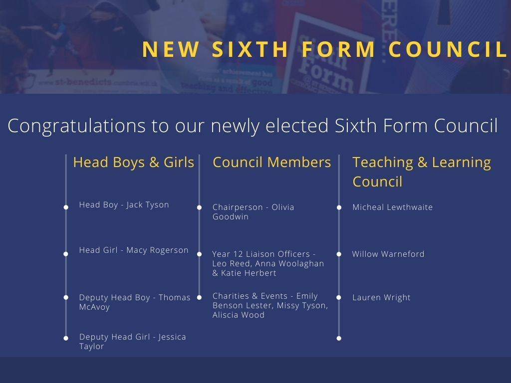 Sixth Form Council 2020-2021 (1)